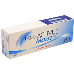 1 DAY ACUVUE MOIST 30P R/9.0
